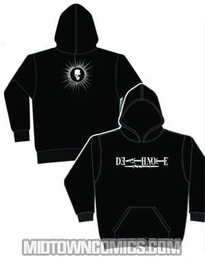 Death Note Logo Black Hoodie Large