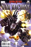 War Machine Vol 2 #1 1st Ptg Regular Leonardo Manco Cover (Dark Reign Tie-In)