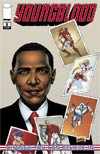 Youngblood Vol 4 #8 1st Ptg Barack Obama Cover