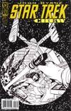 Star Trek Crew #1 Incentive John Byrne Sketch Variant Cover