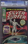 Silver Surfer Vol 1 #1 CGC 9.2
