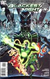 Blackest Night #1 Incentive Ethan Van Sciver Variant Cover