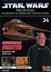 Star Wars Official Starships And Vehicles Collection Magazine #34 Geonosian Fighter