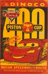 Disney Pixars World Of Cars The Rookie #1 Piston Cup Program Holofoil Variant Cover