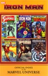Iron Man Official Index To The Marvel Universe TP