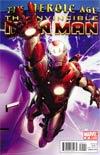 Invincible Iron Man #25 1st Ptg Regular Salvador Larroca Cover