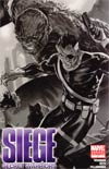 Siege Secret Warriors #1 Cover B Incentive Marko Djurdjevic Sketch Cover
