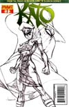 Kevin Smiths Kato #1 Incentive Ale Garza Black & White & Green Cover
