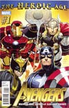 Avengers Vol 4 #1 1st Ptg Regular John Romita Jr Cover (Heroic Age Tie-In)