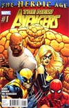 New Avengers Vol 2 #1 1st Ptg Regular Stuart Immonen Cover (Heroic Age Tie-In)