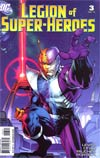 Legion Of Super-Heroes Vol 6 #3 Incentive Jim Lee Variant Cover