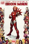 Invincible Iron Man #29 Incentive Women Of Marvel Frame Variant Cover