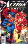 Action Comics #892 Incentive DC 75th Anniversary By Ivan Reis Variant Cover
