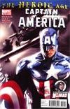 Captain America Vol 5 #609 Regular Marko Djurdjevic Cover