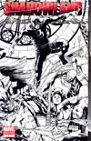 Shadowland #1 MRRC Billy Tan Sketch Wraparound Cover