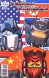Transformers Vol 2 #12 Regular Cover B