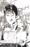 True Blood #4 Incentive Joe Corroney Virgin Sketch Cover