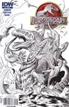 Jurassic Park Redemption #5 Incentive William Stout Sketch Cover