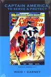 Captain America To Serve & Protect HC Premiere Edition Direct Market Cover