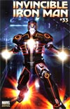 Invincible Iron Man #33 Incentive Brandon Peterson Tron Variant Cover