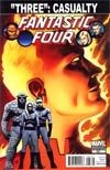 Fantastic Four Vol 3 #587 Incentive John Cassaday Spoiler Variant Cover