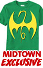 Iron Fist Symbol Fist Of Iron Midtown Exclusive T-Shirt Large