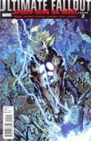 Ultimate Comics Fallout #2 Regular Bryan Hitch Cover (Death Of Spider-Man Tie-In)