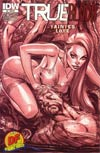 True Blood Tainted Love #6 DF Exclusive J Scott Campbell Variant Cover