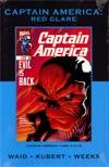 Captain America Red Glare HC Premiere Edition Direct Market Cover