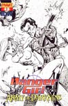 Danger Girl And The Army Of Darkness #1 Incentive J Scott Campbell Sketch Cover