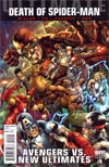Ultimate Comics Avengers vs New Ultimates #4 Incentive Bryan Hitch Variant Cover (Death Of Spider-Man Part 5)