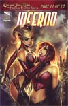 Grimm Fairy Tales Inferno One Shot Cover A Stjepan Sejic (Dream Eater Saga Part 11)