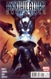 Annihilators Earthfall #1 Regular John Tyler Christopher Cover