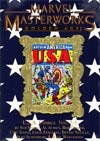 Marvel Masterworks Golden Age USA Comics Vol 2 HC Variant Dust Jacket