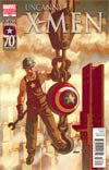 Uncanny X-Men #539 Incentive I Am Captain America Variant Cover