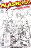 Flashpoint #5 Incentive Andy Kuber Sketch Cover