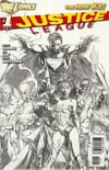 Justice League Vol 2 #1 Incentive David Finch Sketch Cover