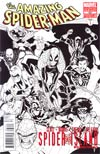 Amazing Spider-Man Vol 2 #667 Cover D 2nd Ptg Humberto Ramos Hero Sketch Cover (Spider-Island Tie-In)