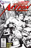 Action Comics Vol 2 #1 Incentive Rags Morales Sketch Cover