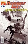 Danger Girl And The Army Of Darkness #3 Incentive Paul Renaud Sketch Cover