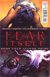 Fear Itself #4 2nd Ptg Variant Cover