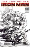Invincible Iron Man #508 Incentive Marvel Architects Sketch Cover (Fear Itself Tie-In)