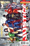 Justice League Vol 2 #1 Combo Pack With Polybag 2nd Ptg
