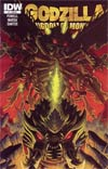 Godzilla Kingdom Of Monsters #7 Incentive Matt Frank Battra Variant Cover