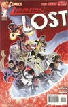 Legion Lost Vol 2 #1 2nd Ptg