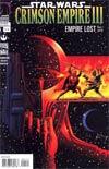 Star Wars Crimson Empire III Empire Lost #1 Incentive Paul Gulacy Variant Cover