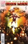 Invincible Iron Man #512 Regular Salvador Larroca Cover (Shattered Heroes Tie-In)