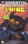Essential Marvel Two-In-One Vol 4 TP