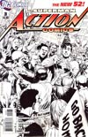 Action Comics Vol 2 #3 Cover C Incentive Rags Morales Sketch Cover