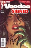 Voodoo Vol 2 #1 Cover C 1st Ptg Signed By Ron Marz